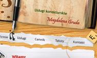 Usługi korektorskie Magdalena Gruda